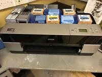 Epson stylus Pro 3880 large format printer - **with spare ink**