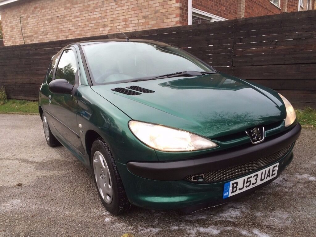 racing green peugeot 206 1 4 hdi in rubery west midlands gumtree. Black Bedroom Furniture Sets. Home Design Ideas