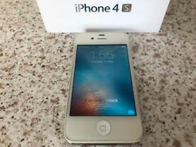 Apple iPhone 4s 32GB - White - Factory unlocked