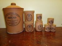 Terracotta storage containers