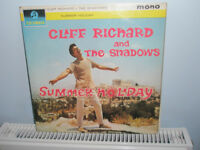 Cliff/Shadows, Buddy Holly, Lonnie Donegan, Sara Vaughan, Julie Rogers LPs