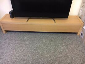 Solid wood TV stand/unit