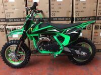 50cc Cobra Mini Dirt Bike Brand New 2018