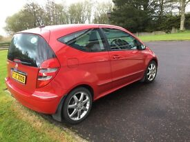 BARGAIN MERCEDES A CLASS 1.5 AVANTGARDE PETROL. MOTED UNTIL APRIL 2018. FIRST TO VIEW WILL BUY.