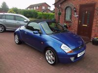 2005 FORD KA CONVERTABLE-LUXERY,LOW MILES.12MTHS MOT,57,000 MILES,EXC CONDITION. WELL LOOKED AFTER