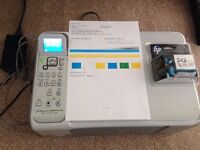 HP C4180 (Printer/Copier/Scanner) plus new 343 colour cartridge + cables
