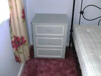 Two Bedside Tables with Drawers