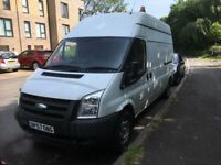 Ford Transit 2.4 TDCi 350 LWB High Roof Duratorq 3dr,Mini Crane