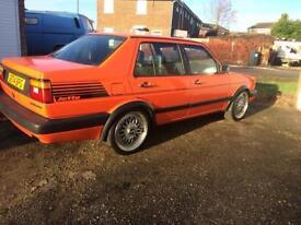 VW Jetta mk2 bright orange