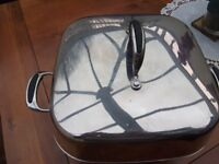 PRESTIGE ELECTRIC FRYING PAN - HARDLY USED - GOOD CONDITION-PICK UP ONLY STOKE GIFFORD BRISTOL
