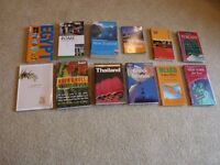 Job Lot of 12 Travel Books