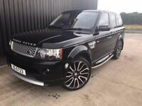 2012 Autobiography Facelift Conversion Land Rover Range Rover Sport 2.7 HSE Rear Entertainment