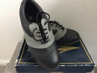 Leather Golf Shoes Size UK 3 EU36, very good condition