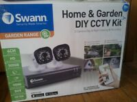swann security kit with two camera's