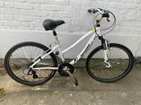 "Woman's Marin 15"" frame bike"