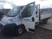 Fiat Ducato Double Cab pic up 2008 year Left Hand Drive