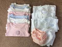 Girls 3-6 months Bodysuits/Sleepsuits
