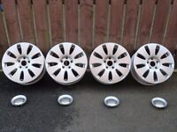 """Rare Genuine Audi 16"""" 7J Alloys 5x112 A3 A4 A6 Seat Skoda Volkswagen *UK WIDE POSTAGE AVAILABLE*"""