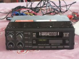 Car radio and cassette player