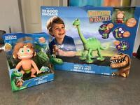 The Good Dinosaur toy bundle - both brand new in box