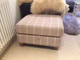 Next footstool with storage