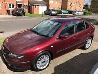 2002 02 Seat Leon Cupra 1.8t 69k Very Low Mileage Full Service History Clean Example