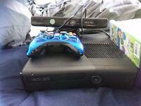 Xbox 360 250gig hard drive, with Kinect + 20 games