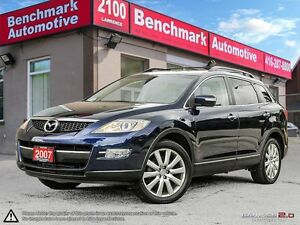 2007 Mazda CX-9 GT-LEATHER-1 OWNER-CLEAN CARPROOF-LIKE NEW-79 KM