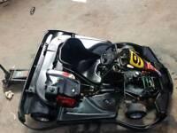 Honda gx200 go cart
