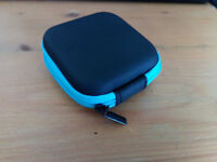 Mini Square Hard Storage Case for Earphones SD Cards etc.