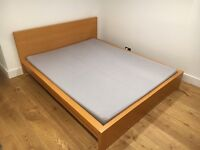 *** Ikea bed & mattress very good condition ***