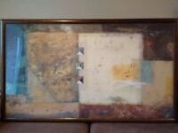 Very rare Pietro Adamo TRIAD III Professionally Framed and Glazed Print
