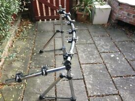 Dixon Drum Rack System with Side Extension Bars, Plus Loads of Clamps, For Sale