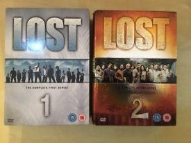 Lost Season 1 & 2 DVD Boxsets