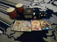 Nintendo gamecube with 4 games