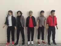 One Direction Dolls - Unboxed, Excellent Condition