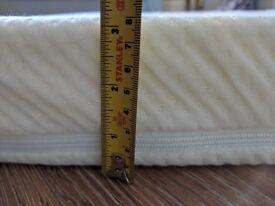 Brand new, UK double, memory foam mattress topper