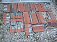 Marley Double Pantile Roof Tiles Offcuts
