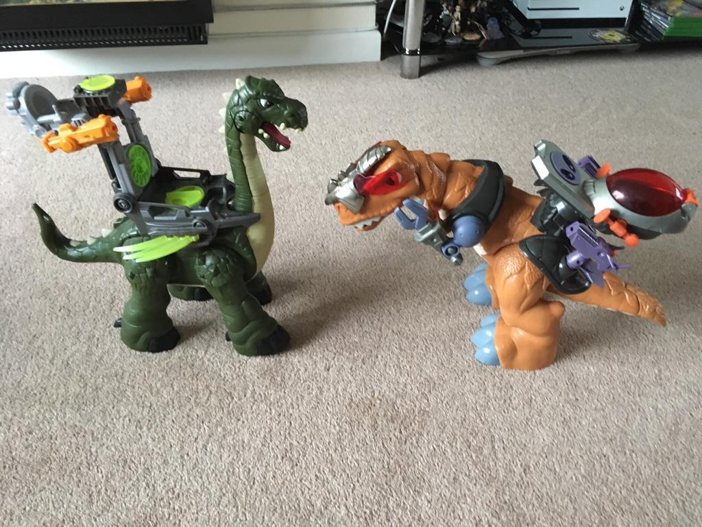 Fisher price imaginext dinosaurs