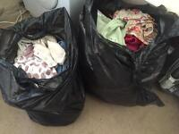 2 huge bags of girls clothes