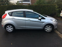 Silver Ford Fiesta in v good condition