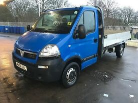 Vauxhall Movano Flatbed Dropside 12 Months Mot! no rust Ready For Work Great Van like transit