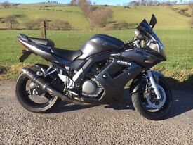 Suzuki SV650 SK8 Sport, low mileage and excellent condition