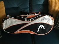 *signed by Andy Murray* Head tennis bag