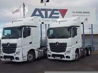 2013-2014 mercedes actros streamspace 2545 6x2 midlift auto tractor units buy or contract