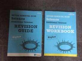 2 GCSE EDEXCEL ADDITIONAL SCIENCE REVISE GUIDE & WORKBOOK
