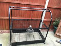 Reptile Animal Cage, or Tortoise, Rabbit, Dog Cage House Large
