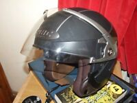 Open Face Crash helmet