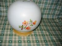 Large Ceiling Glass Lamp Shade Retro Vintage