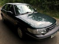 SAAB 900 XS Auto 2290cc Petrol Automatic 5 door hatchback P reg 30/06/1997 Green